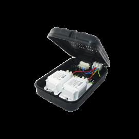 Equipement pour lampe compactes fluorescente